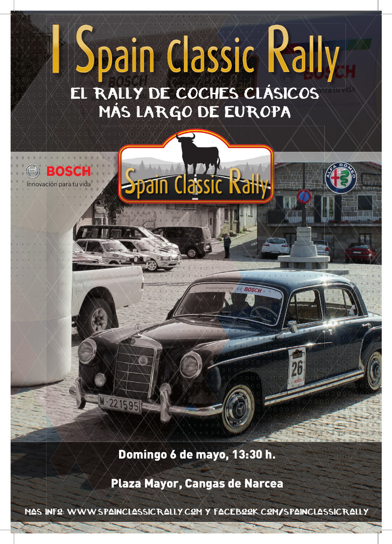 Cartel Spain Classic Rally