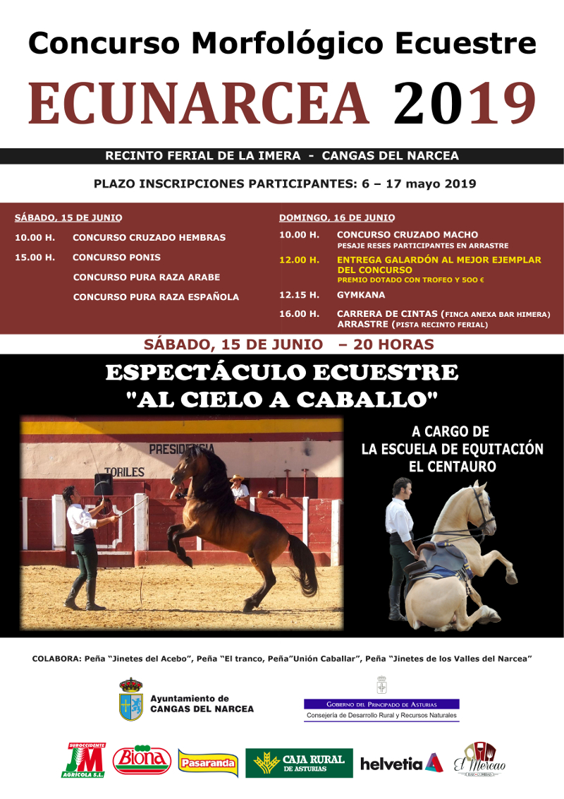 Cartel Ecunarcea 2019
